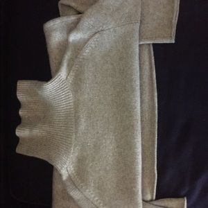 Banana Republic Sweaters - men's grey turtleneck cashmere sweater SzM